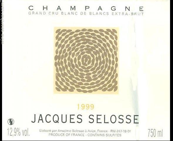 Champagne Biodinamico JacquesSelosse